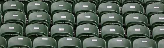 image of empty seats
